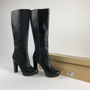 Tall Michael Kors leather boots